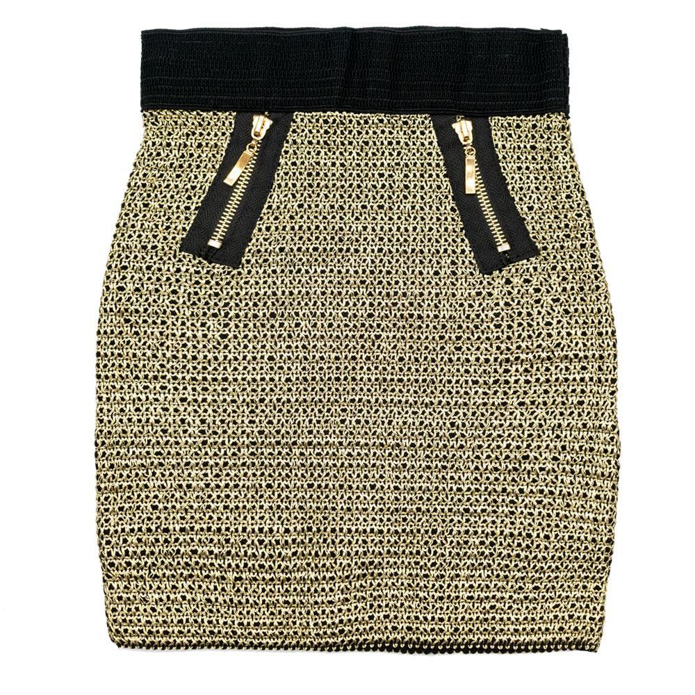 Юбка для девочек Magic 122  золото S-622