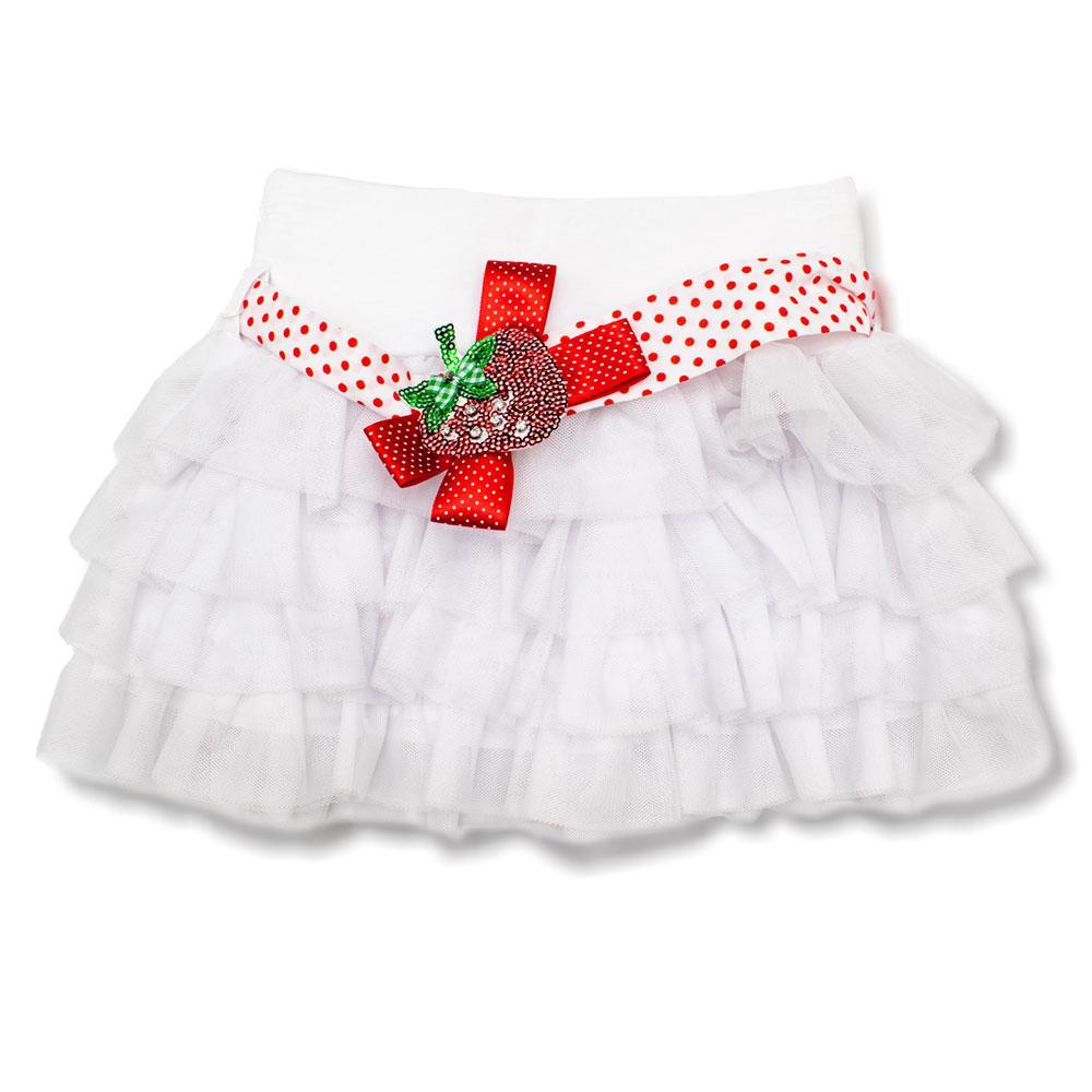 Юбка для девочек Colabear 90  белая 681322