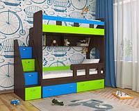 Кровать-чердак для двух детей КЧД 110