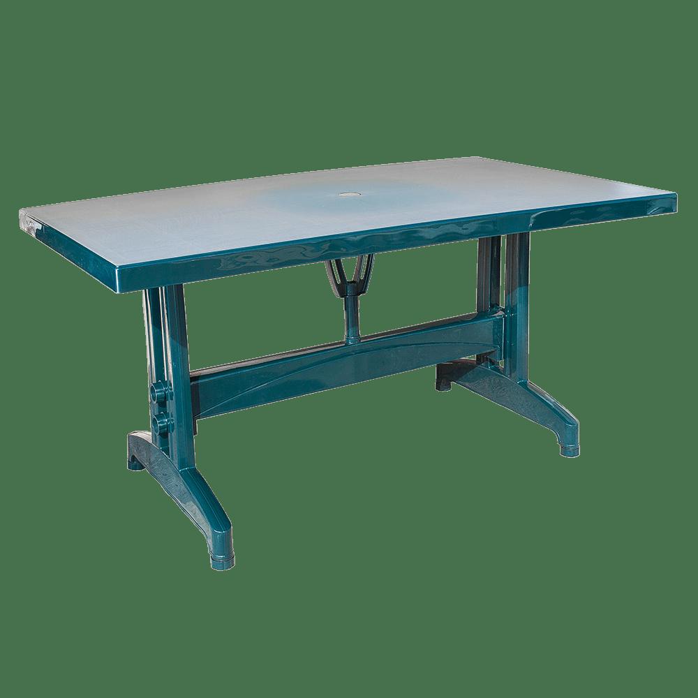 Стол прямоугольный Irak Plastik 80x140 зеленый