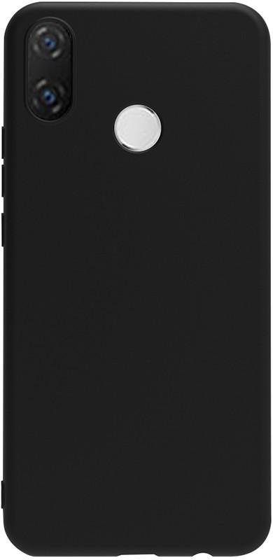 Чехол-накладка TOTO 1mm Matt TPU Case Huawei Nova 3e Black #I/S