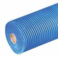 Сетка для армирования фасадов, ячейка 5х5мм., 145 гр/м.кв., Works, синяя