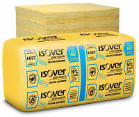 Теплоизоляция ISOVER Скатная кровля-100, 610х1170х100мм (7,137 кв.м)