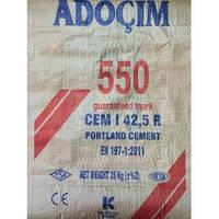 Портландцемент ПЦ 550 CEM I 42.5 R Турция 25 кг