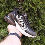 Чоловічі кросівки Nike Air Max 270 Supreme (чорно-білі) 10057, фото 7