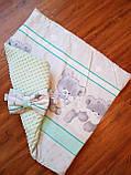 Конверт- одеяло для новорожденного весна/лето/осень, фото 2