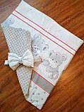 Конверт- одеяло для новорожденного весна/лето/осень, фото 3