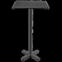 База стола Kross bar 63x63x110 см антрацит Papatya