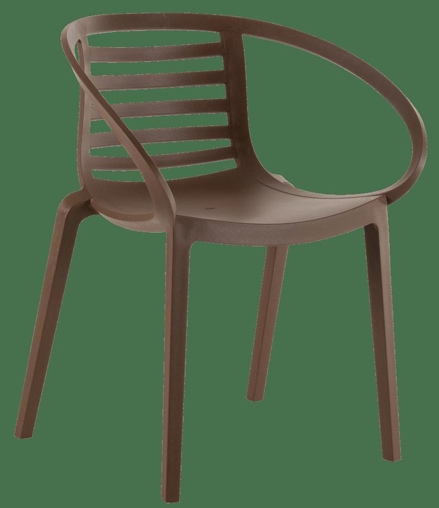 Кресло Papatya Mambo коричневое