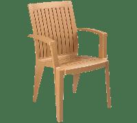 Кресло Papatya Ализе тик, фото 1