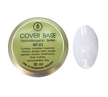 База для гель-лака Milano Cover Rubber Base Gel Luxury  № 01, 30 мл
