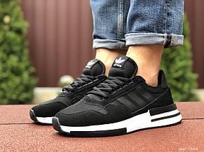 Мужские кроссовки Adidas ZX 500 Rm,черно белые 45р, фото 2
