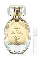 Пробник парфюмерной воды для женщин faberlic by Valentin Yudashkin Gold