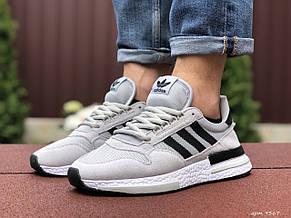 Мужские кроссовки Adidas ZX 500 Rm,серые, фото 2
