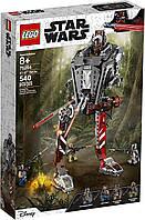 Конструктор Лего Звездные Воины Lego Star Wars Диверсионный AT-ST 75254