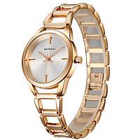Часы BAOSAILI BSL1041 модный наручный аксессуар для девушек стильные часы Баосаили Rose Gold (3085-8920)