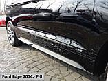 Молдинги на двері для Ford Edge 2014-2020, фото 4