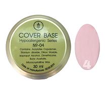База для гель-лака Milano Cover Rubber Base Gel Luxury  № 04, 30 мл