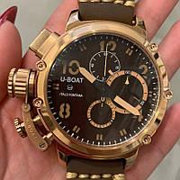 U-boat Italo Fontana Chimera Brown/Gold/Brown AAA
