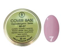 База для гель-лака Milano Cover Rubber Base Gel Luxury  № 07, 30 мл