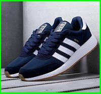 Кроссовки Adidas Iniki Runner мужские /Адидас Иники черные, синие, кра