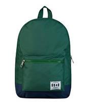 Рюкзак городской копия Herschel зеленый