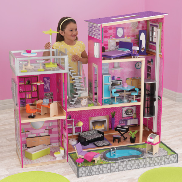 Большой Кукольный домик Luxury KidKraft 65833