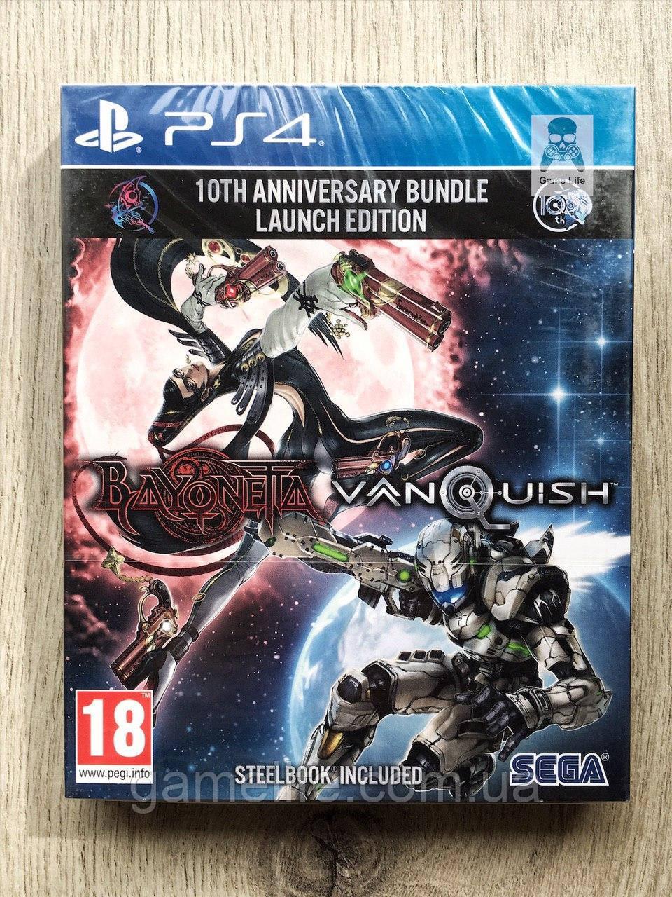 Bayonetta + Vanquish Bundle Steelbook Edition (новый) (англ.) PS4