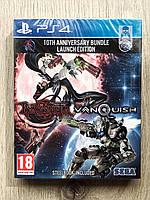 Bayonetta + Vanquish Bundle Steelbook Edition (новый) (англ.) PS4, фото 1