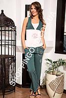 """Женская пижама Shirly 4822  """"Лапка"""", костюм домашний с брюками"""