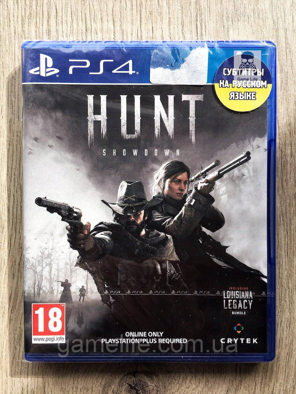 Hunt Showdown (рус. суб.) PS4