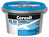 Замазка для швов Ceresit CE40 aquastatic 2 кг блестящий агат