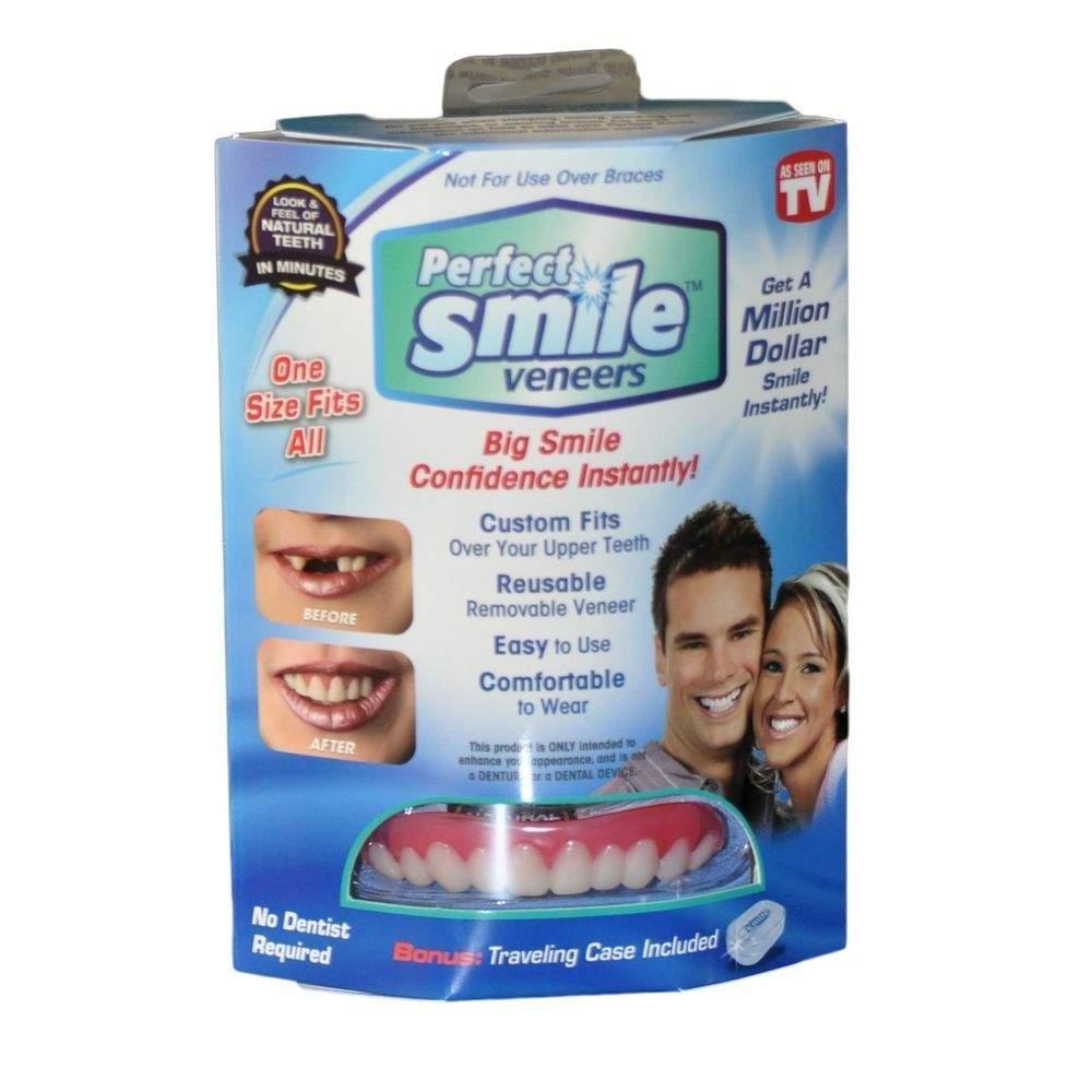 Съемные виниры Perfect Smile двойные - верхние и нижние