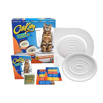 Набор для приучения кошки к унитазу CitiKitty Toile