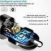 Автомобільний зарядний пристрій 2 х USB 3.1 А + вольтметр, швидка зарядка QC 3,0, фото 3