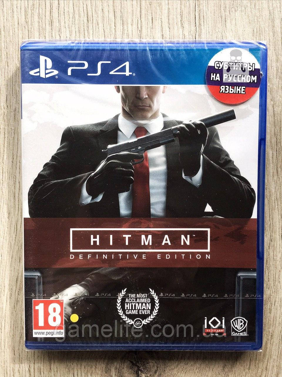 Hitman Definitive Edition (рус. суб.) PS4