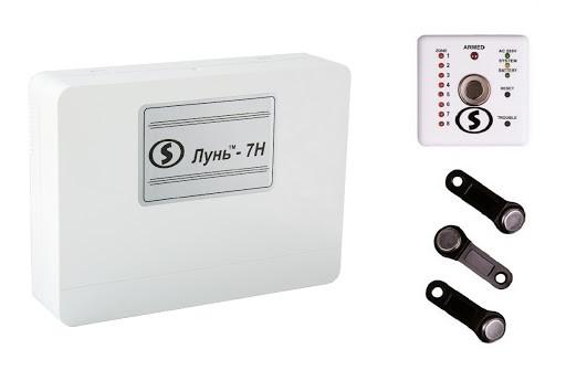 Прибор приемно-контрольный охранно-пожарный Лунь 7H с клавиатурой