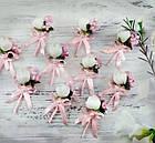 Бутоньерки свадебные в любом цвете с пионом, фото 2