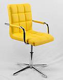 Стул Augusto Arm M Base, желтый, фото 3
