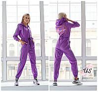 Дизайнерский яркий молодежный женский комбинезон covid19. 4 цвета!, фото 1
