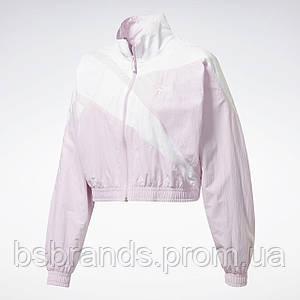 Женская укороченная спортивная куртка Reebok Classics Vector FQ2260 (2020/1)