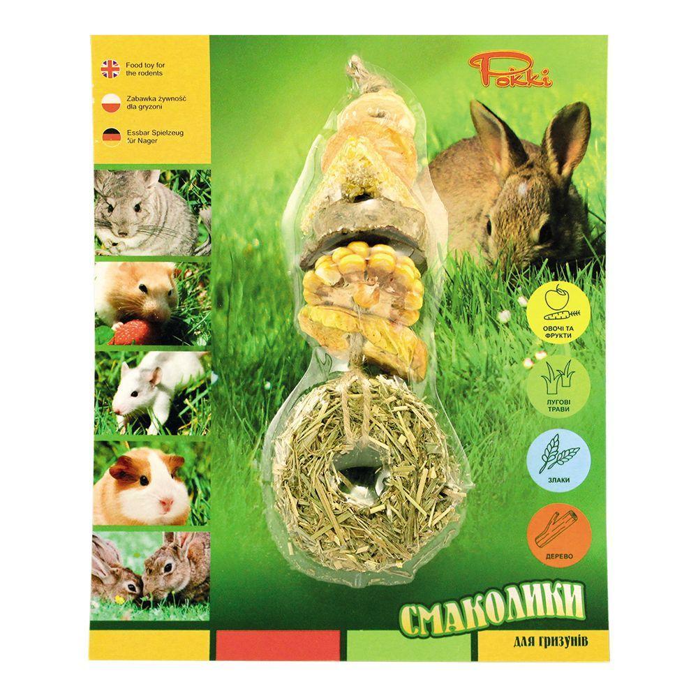 Большие смаколики для грызунов Лори №3 (4 упаковки)