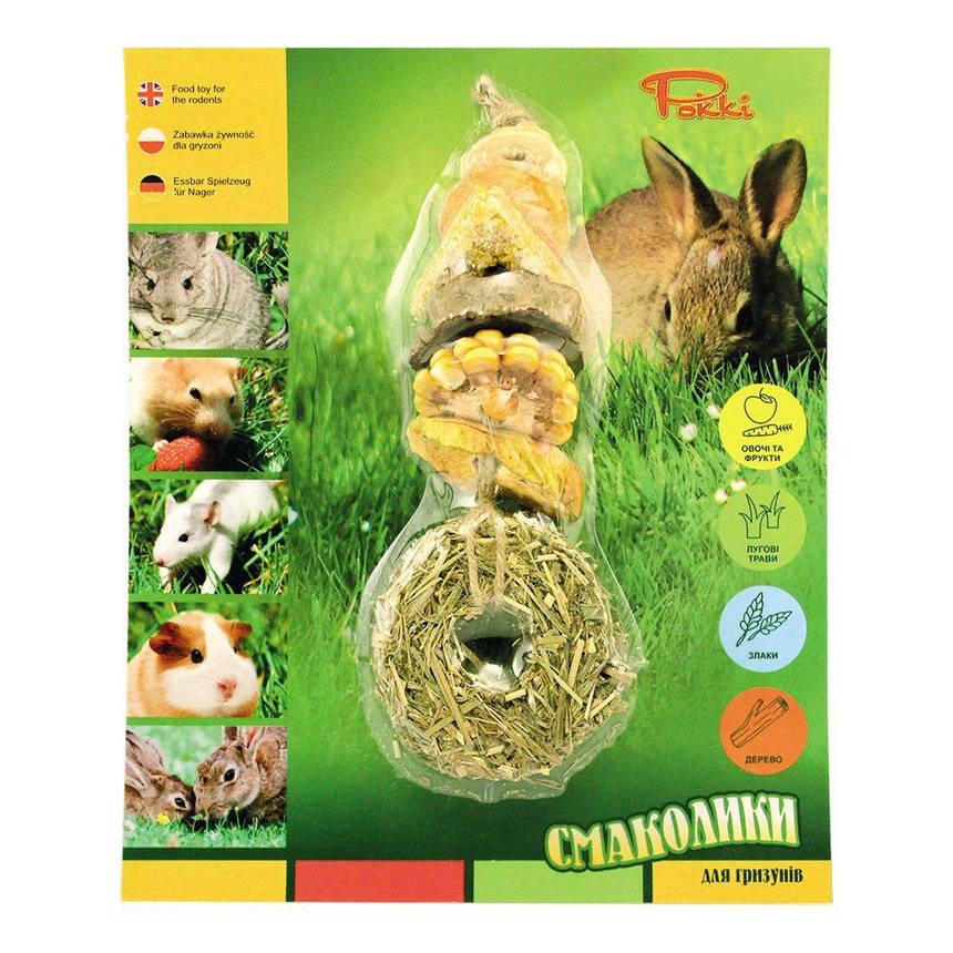 Большие смаколики для грызунов Лори №3 (4 упаковки), фото 2