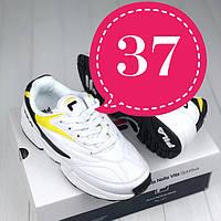 Женские кроссовки (последние размеры) в стиле Fila Venom yellow