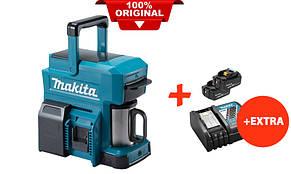 Аккумуляторная кофеварка Makita DCM501Z+2 акк.18V 5 Ah+быстрозарядное ЗУ (DCM501RT2)