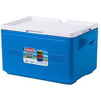 Термобокс Coleman Cooler 48 can stacker. Сохранение t° 48 ч (сумка холодильник, термосумка, термоконтейнер), фото 1