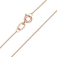 Цепочка Стенли из красного золота в якорном плетении 000100152 45 размер