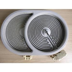 Конфорка для стеклокерамики 2400/1500W