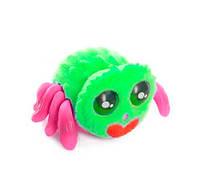 🔝 Игрушка паук для детей (зеленый + розовый) игрушечный паучок Yelies на батарейках интерактивный | 🎁%🚚