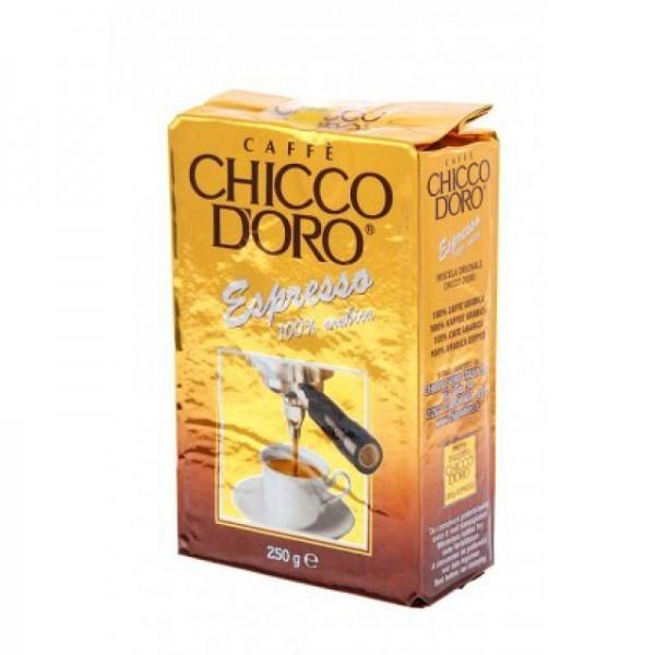 Chicco d'Oro Молотый кофе Эспрессо 250 грамм